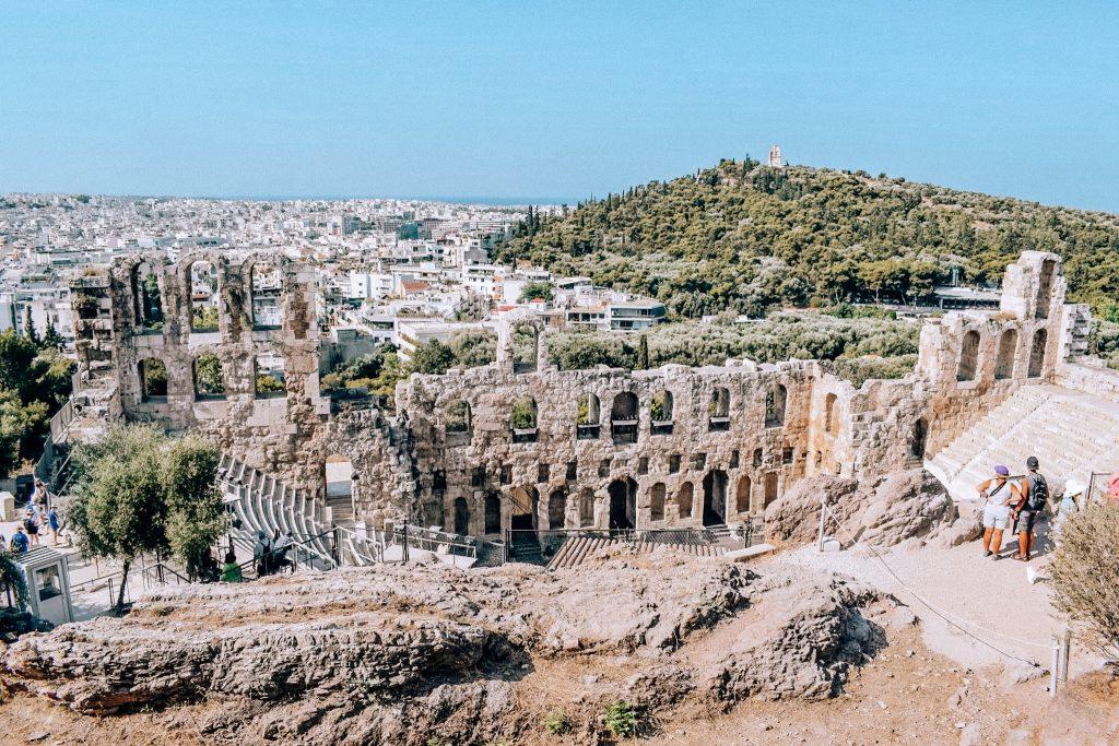 Atena - scurt ghid de călătorie